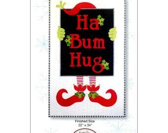 Ha Bum Hug Wall Quilt Pattern by Sandy Fitzpatrick of Hissyfitz Designs