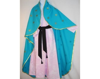 Girl Sz 8 Our Lady of Guadalupe Costume All Saints Day