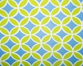 "Green Blue Geometric Print #558 4 Way Stretch Swimwear Activewear Cosplay Nylon Spandex Lycra Craft Fabric 58""-60"" Wide By The Yard"
