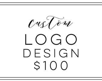 Custom Logo, Business Logo, Logo Design, Photography Logo, Creative Logo, Shop Logo, Logo Design Service, One of a Kind Logo, Boutique Logo
