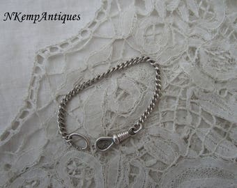 Antique silver bracelet nice for dolls real silver