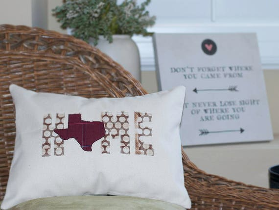 Texas Gifts New Home Gift Gift For Couples State Pillow