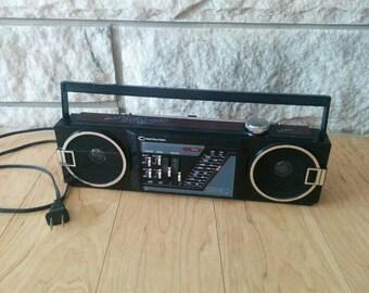 Vintage Centurion Portable/Plug-In Stereo AM FM Radio Player with Cord - Mono/Stereo Retro Radio