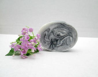 Activated Charcoal Tea Tree Oil Soap, Activated Charcoal Soap, Handmade Soap, All Natural Soap, Artisan Soap, Homemade Soap