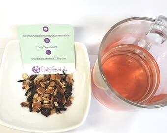 Sunset Tisane (Loose Leaf tea with dried fruits)