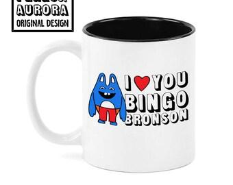 Bingo Bronson- Broad City inspired funny coffee mug