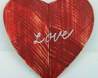 Love Heart. Pallet wood heart, Love sign, Love heart
