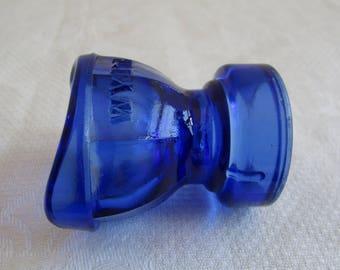 Vintage Wyeth Blue Glass Eye Wash
