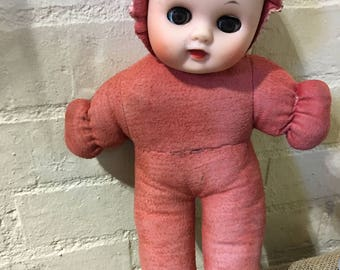 Beautiful soft vintage baby doll