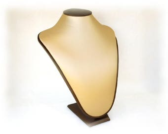 """Mate Gold Necklace Display ID909897432_Lux jewelry Bust Display - of 28 cm / 11 """" _ pack  1 pc"""