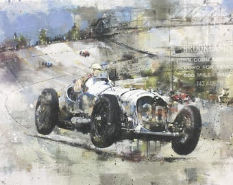 Napier Railton - John Cobb at Brooklands
