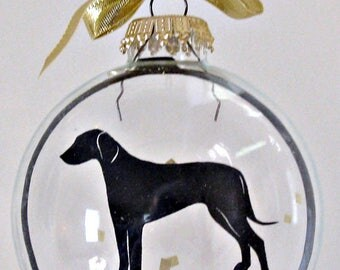 Rhodesian Ridgeback Ornament, Dog Gifts for Dog Lovers