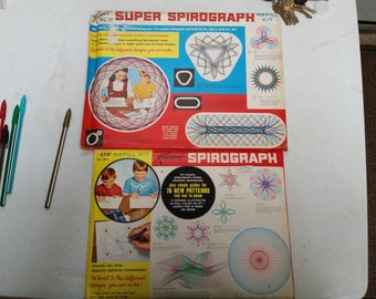 Kenner super spirograph refill kits sealed