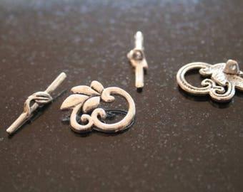 5 metal clasps. (ref:0113).