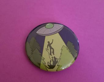 Alien abduction button