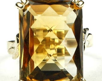 On Sale, 30% Off, Citrine, 14KY Gold Ring, R039