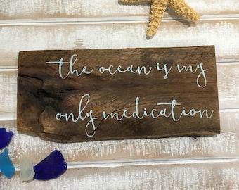 Jimmy Buffett lyrics, Jimmy Buffett, Zac Brown band, knee deep lyrics, beach sign, beach decor, ocean, wood sign, tropical decor, pallet