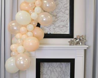 Balloon Garland Kit - Buttercream