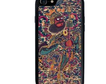 iPhone 5 5s 6 6s 6+ 6s+ SE 7 7+ iPod 5 6 Phone Case, Sacred Warrior, Bushō no zu, Plus