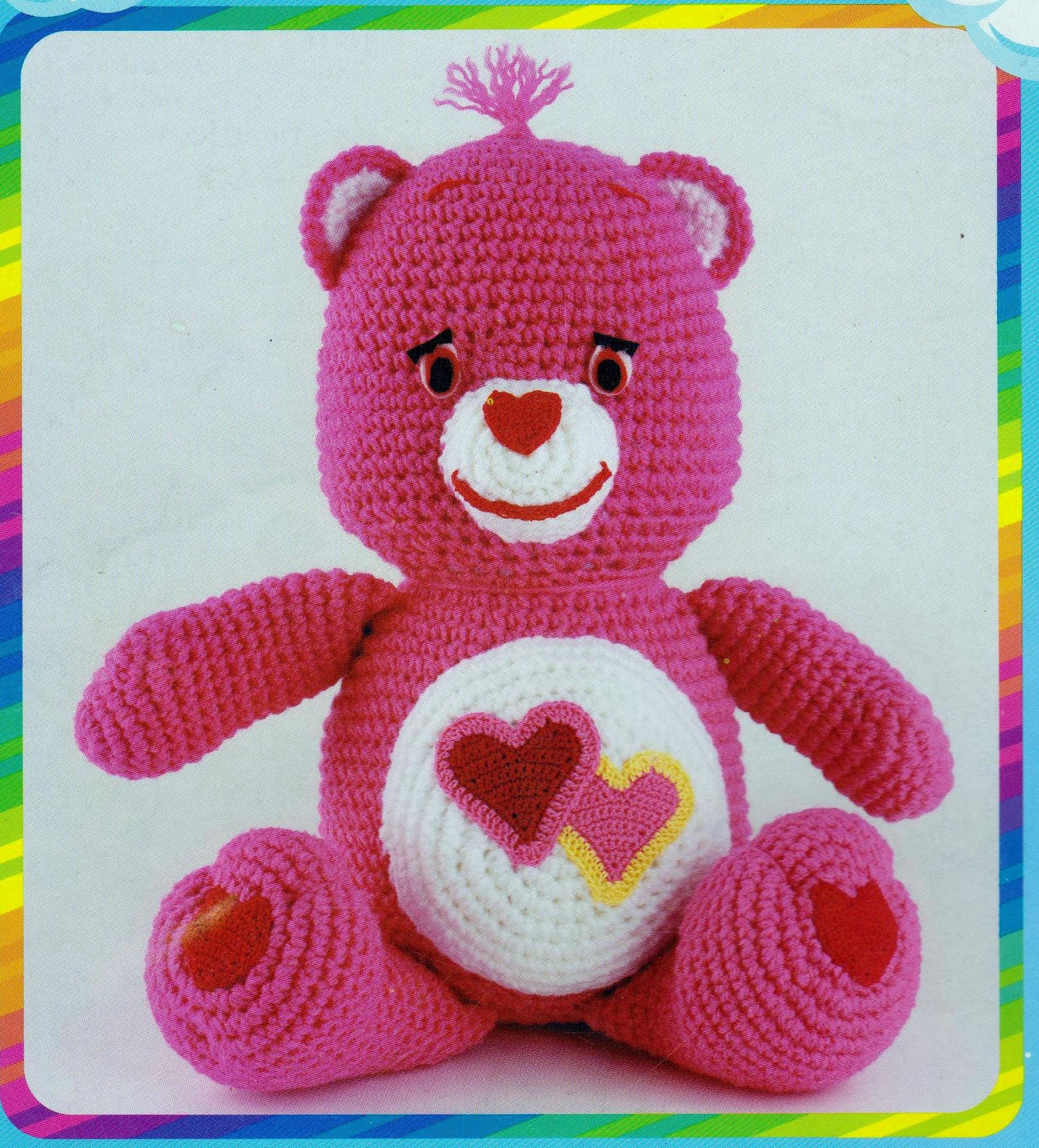 Care bears crochet characters craft patterns instruction book 10 350 shipping bankloansurffo Choice Image