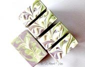 Lovely Lavender Organic Luxury Body Bar / Handcrafted Natural Soap / Goats Milk Soap / Cream Soap / Organic Ingredients / Whipped Upp