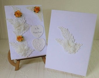 Wedding Day Card - Boxed and can be Personalised
