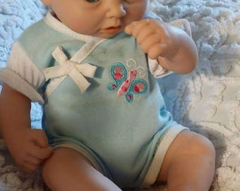 Realistic premie anatomically correct fake baby boy doll- detailed