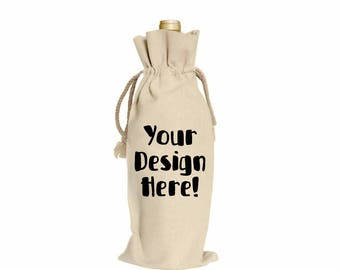 Personalized Gift | Carrying Bag For Bottle | Carrying Bottle Bag | Bottle Carrying Case | Gift Case For Bottle | Bottle Carrying Bag | Wine