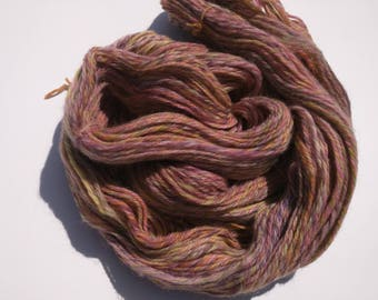 Handspun, hand dyed yarn - Colombia x Rambouillet, dk weight, 217 yds
