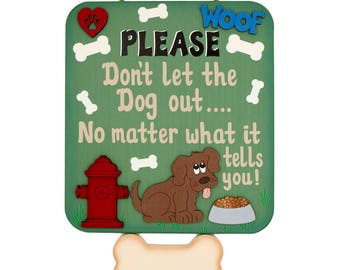 Dog Pet Personalized Dog wooden wall sign Wooden Pet Dog Sign Pet signs Wooden Pet Dog I love my dog Pet signs dog signs dog gifts