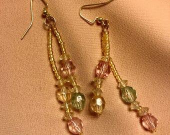Virginia Glow Beaded Earrings