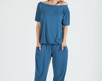 Jumpsuit Dusk Blue