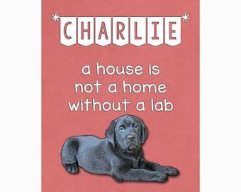 Funny Dog Wall Art /  /  Art Print / Funny Dog Art / Pet Lover / Home Decor / Labrador Retriever
