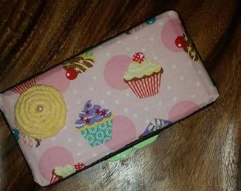 Adorable Cupcake Wipe Case