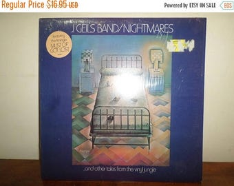 Save 30% Today Vintage 1974 Vinyl Record J. Geils Band Nightmares And Other Tales From the Vinyl Jungle Near Mint Condition 11995