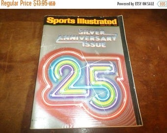 Save 25% Now Vintage August 13, 1979 Sports Illustrated Magazine Silver Anniversary Issue Excellent Condition