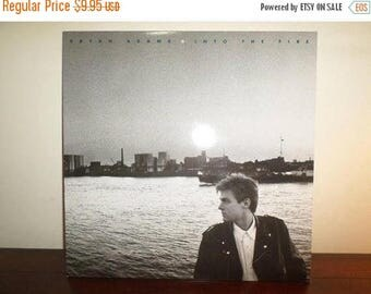 Save 30% Today Vintage 1987 Vinyl LP Record Into the Fire Bryan Adams Near Mint Condition 11227