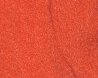 wool felting Orange 7928