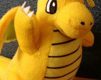 10 inch Dragonite Plush Pokemon PokeDoll