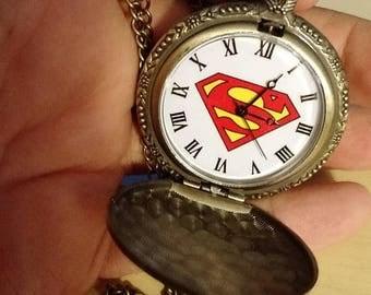 Retrocon Sale - Pocket Watch - Superman