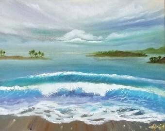 Ocean Breeze 16x20/Oil Painting