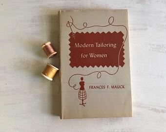 Vintage 1953 Modern Tailoring for Women Book