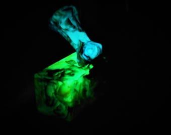 Mystical Ribbons N Lace Bottle Stopper Blanks Green Glow Blue Glow or no glow.
