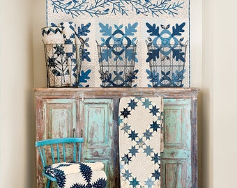Patches of Blue - Edyta Sitar - Laundry Basket Quilts - Blue & White Quilt Book
