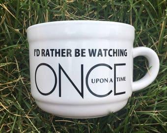 Once Upon A Time, Coffee Mug, TV Show, Gift