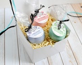 Bath Bomb Gift Set - Bath Bomb Set - Handmade Bath Bombs - Bestselling Bath Fizzy Gift Set - Spa Gift Set for Her - Bath Fizzy Gift Box
