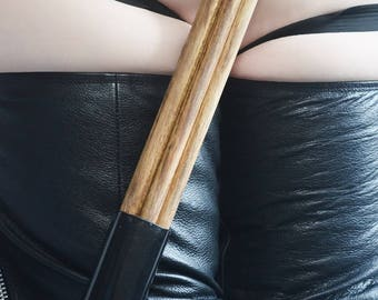 BDSM Spanking - Six Strand Wood Thudder - BDSM Sex Toy