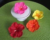 Royal Icing Hibiscus Flowers
