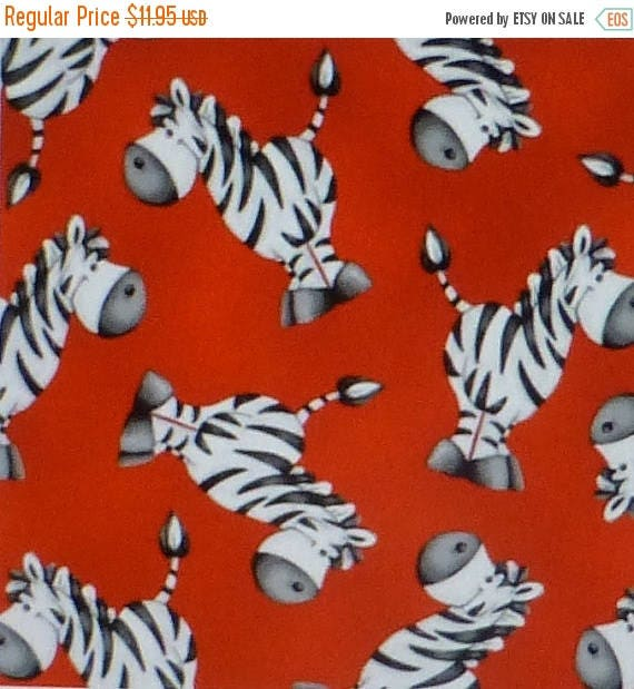 Clearance SALE ABC~123, Zebras on Red~Cotton Fabric, Quilt,by ... : red quilts clearance sale - Adamdwight.com