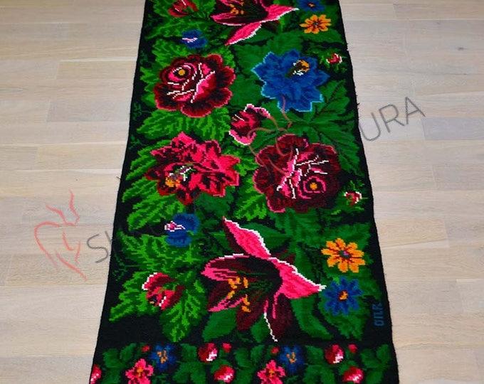Tapis moldave,Large rug, Bessarabian Kilim & area rugs. oushak rug, persian rug,morrocan rug,tapis boheme,overdyed rug